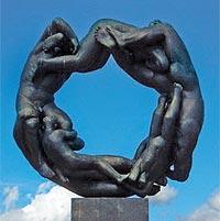 Парк скульптур и его автор Густав Вигеланн