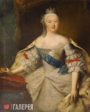 Г.-Х. Гроот. Портрет императрицы Елизаветы Петровны. 1740-е (?)