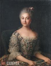 Иван АРГУНОВ. Портрет графини В.П.Шереметевой. 1766