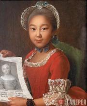 Иван АРГУНОВ. Портрет калмычки Аннушки. 1767
