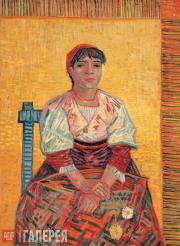 Винсент Ван Гог. Итальянка. 1887