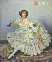У.Г. де Глен (1870–1951). Тамара Карсавина в роли Коломбины в балете «Карнавал».