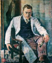 Н.А. ЗАГРЕКОВ. Автопортрет. 1952