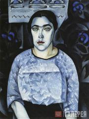Альтман Натан. Портрет Н. Добычиной. 1913