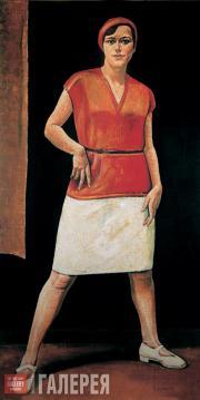 Н.А.ЗАГРЕКОВ. Спортсменка. 1928