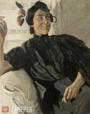 Головин Александр. Испанка с папиросой. 1906–1907