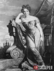 Джордж Доу. Портрет А.Ф.Закревской. 1823