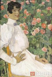 Головин Александр. Испанка в белом. 1906–1907