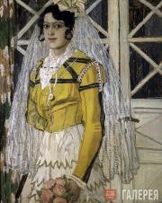 Головин Александр. Испанка. 1906–1907