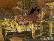 Портрет Ф.И. Шаляпина в роли Олоферна в опере А. Серова «Юдифь». 1908