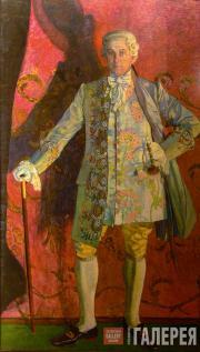 Портрет Д.А. Смирнова в роли кавалера де Грие в опере Ж. Массне «Манон». 1909