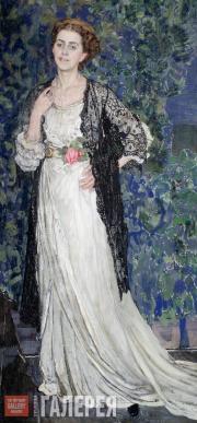 Портрет М.Э. Маковской. 1912