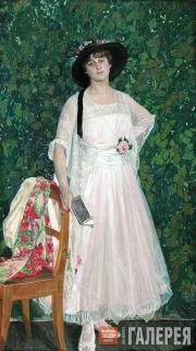 Портрет М.Э. Трояновой. 1916