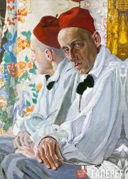 Портрет В.Э. Мейерхольда. 1917