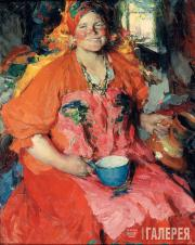 А.Е.Архипов. Девушка с кувшином. 1927