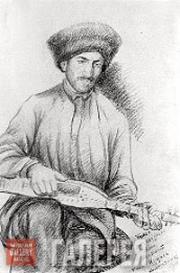 Г.-М.А. ДОУРБЕКОВ. Музыкант Хасан Цуцаев