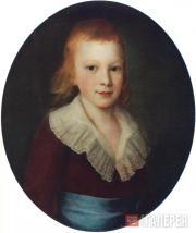 П.С.ДРОЖДИН. Портрет мальчика. 1780-е