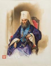 Гау Владимир. Портрет митрополита Филарета. 1854