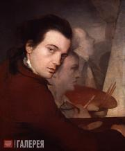 Барри Джеймс. Автопортрет. Около 1767