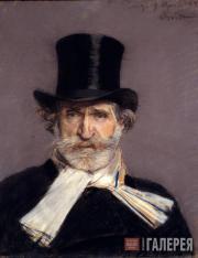Джованни БОЛДИНИ (1842–1931). Портрет Джузеппе Верди. 1886