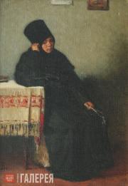 Верещагин Василий. Послушница Вологодского монастыря. 1894