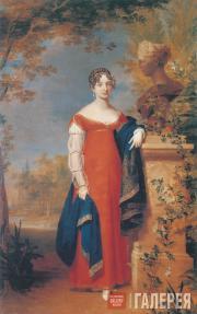 Джордж Доу. Портрет великой княгини Анны Павловны. 1824–1825