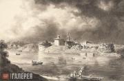 Айвазовский Иван Константинович. Вид Старой Ладоги. 1835