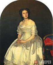 С.К.Зарянко. Портрет княгини М.В. Воронцовой. 1851