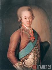 Иван АРГУНОВ. Портрет графа Н.П.Шереметева. 1775 – начало 1780-х