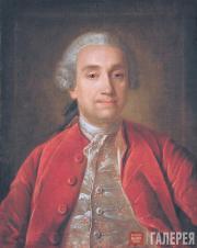 Иван АРГУНОВ. Портрет неизвестного в красном кафтане. 1779