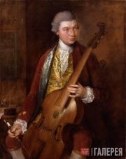 Гейнсборо Томас. Портрет К.Ф. Абеля. Около 1765