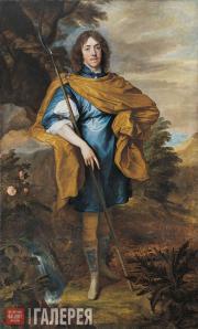Дейк (ванн Дейк) Антонис. Портрет лорда Дж. Стюарта. Около 1638