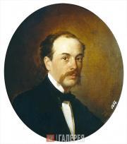 Н.Н. ГЕ. Портрет Г.Н. Ге. 1856