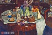 С.Ю.ЖУКОВСКИЙ. Пасхальный натюрморт. 1915