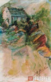 Х.-Б.Б. АХРИЕВ.  Святилище Маги-Ерды близ с. Салги. Ингушетия. 1928