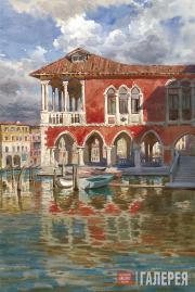Андрияка Сергей. Венеция. 1997