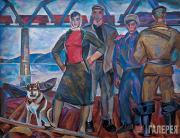 Н.И.АНДРОНОВ. Плотогоны. 1960–1961