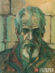 Н.И. Андронов. Автопортрет. 1983