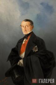 Айвазовский Иван Константинович. Портрет сенатора А.И. Казначеева. 1848