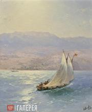 Иван Айвазовский. Крым. Вид на Алупку с моря. 1890