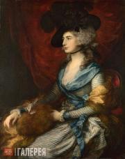 Гейнсборо Томас. Сара Сиддонс. 1785
