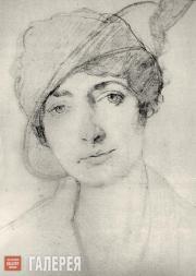 Л.БАКСТ Портрет Алис Гаррет. 1910-е