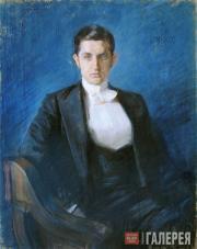 Бакст Леон. Портрет Д.В. Философова. 1897
