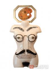 Алла Бедина. Манекен «Джентльмен в очках» . 2003