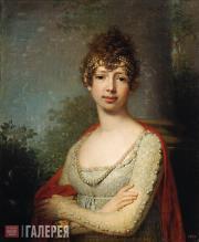 В.Л.Боровиковский. Портрет великой княжны Марии Павловны. 1804