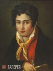 Бруни Федор. Автопортрет. 1813–1816