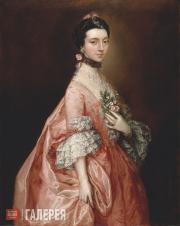 Гейнсборо Томас. Мэри Литтл, в замужестве Леди Карр. Около 1765