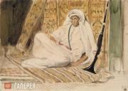 Эжен ДЕЛАКРУА. Молодой араб в своем жилище