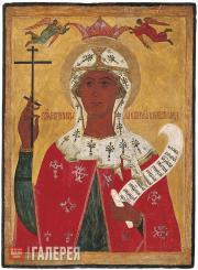 Неизвестный художник. Святая мученица Параскева Пятница. XVI век