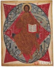 Неизвестный художник. Спас в силах. Деисусный чин. XVI век